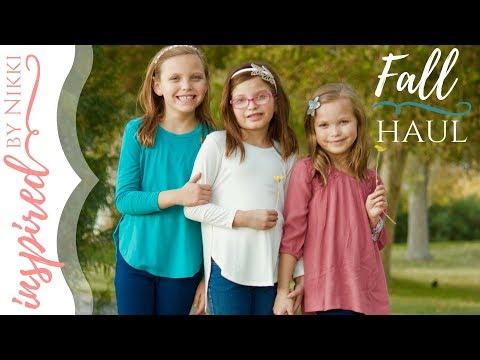 2017 Fall Haul | Kids Clothing | Vlogtober