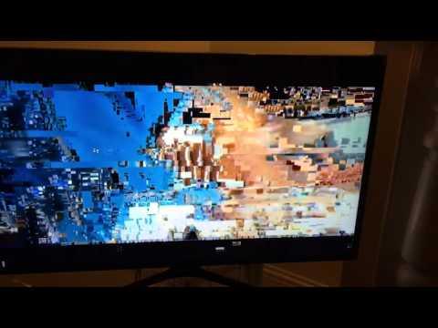 Digital TV signal fail!