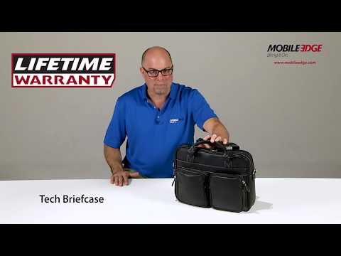 Loaded With Pockets - The Mobile Edge Tech Briefcase