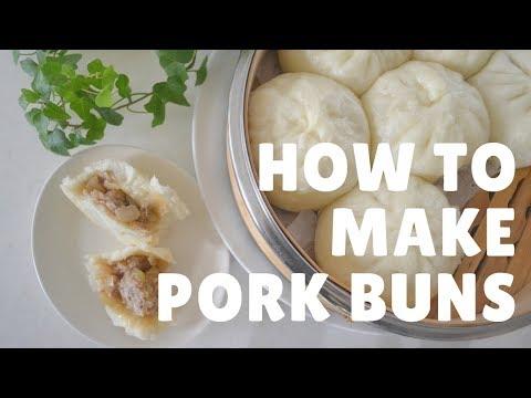 How to make ★Nikuman★ Japanese Pork buns~肉まんの作り方~(EP43)