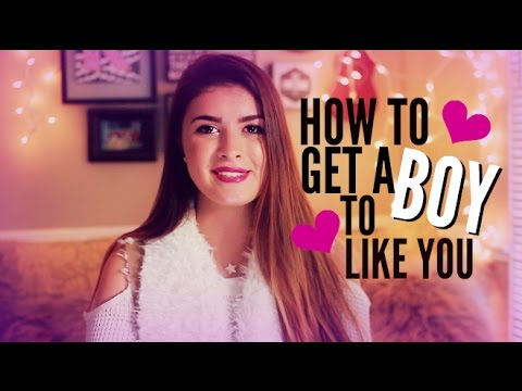 HOW TO GET A BOY TO LIKE YOU | hellokaty