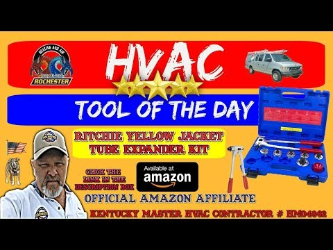 Ritchie Yellow Jacket Tube Expander Kit : HVAC Tool of the Day