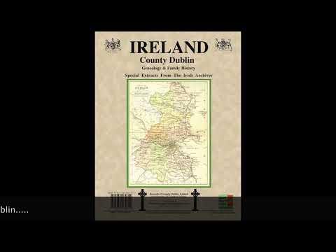 Co. Dublin Ireland research; Dublin Ohio Irish fest; Houston family name; genealogy resource IF74