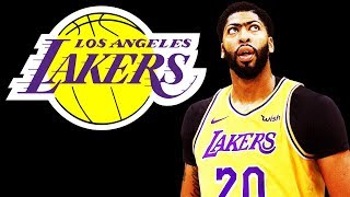 How Anthony Davis Fits with the Lakers!