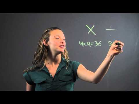 How to Remember Division for School : Math Equations & More