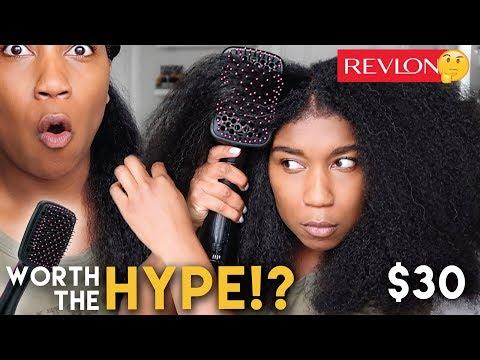 WORTH THE HYPE!? Revlon Salon One Step Hair Dryer Brush REVIEW