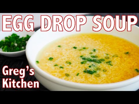 HOW TO MAKE EGG DROP SOUP - Greg's Kitchen