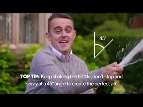 How to Pop Champagne – The National Lottery Winner's Way