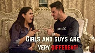 GILS and GUYS are very Different | Shahveer Jafry