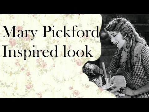 Mary Pickford Inspired Look + Little Silent Film