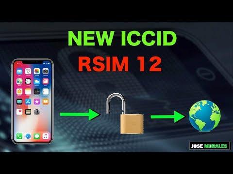 NEW ICCID RSIM 12 - JUNE 4  2018