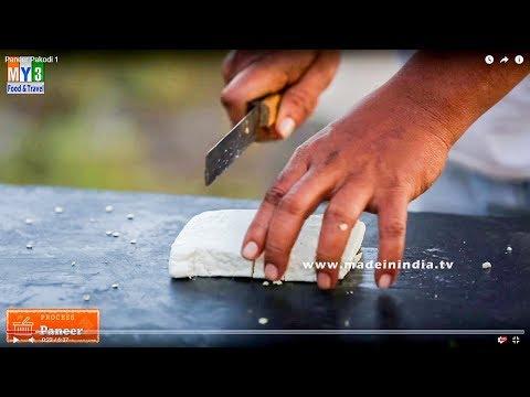 How to make Crispy Paneer Pakoda | Paneer pakora Making street food