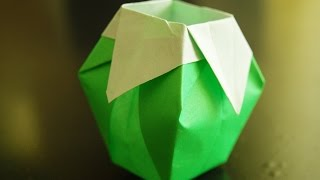 How To Make Paper Vase Origami