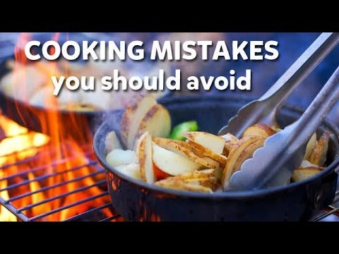 Cooking mistakes you should avoid