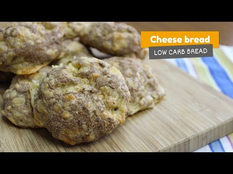 Cheese bread | Low Carb Breads #8