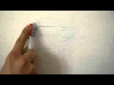 How to clean pastel stains from walls-100% proof