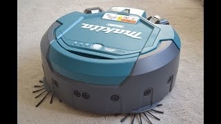 Makita Robot Vacuum Cleaner unboxing and review