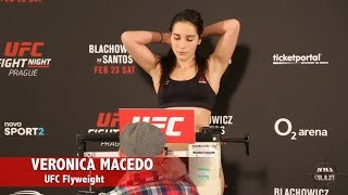 Download UFC Fight Night Prague Official Weigh in Highlights Video