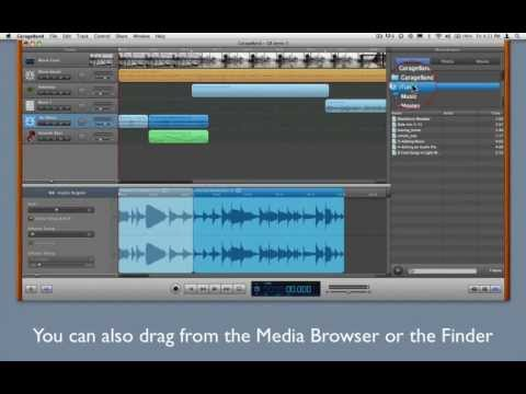Build a Movie Soundtrack in GarageBand - 3 - Adding Music