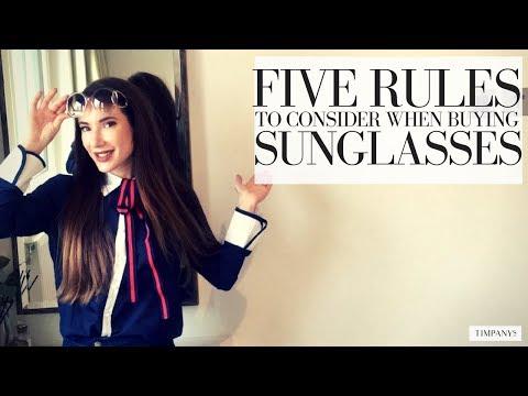 DESIGNER vs HIGHSTREET SUNGLASSES: 5 Buying Rules
