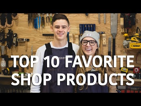 TOP 10 Favorite Woodworking Shop Products   Tools Organization Accessories Gift Ideas?