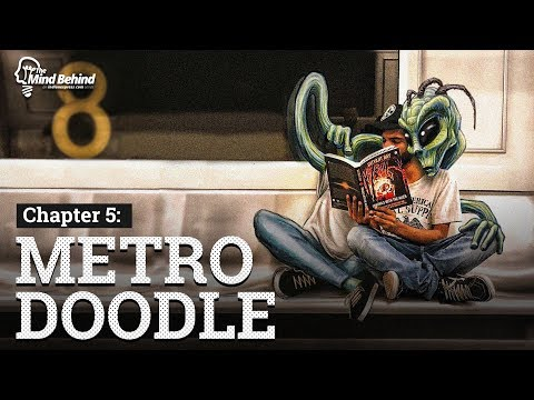 Metro Doodle: Riding With The Aliens
