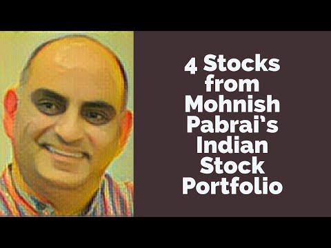4 Stocks from Mohnish Pabrai's Indian Stock Portfolio