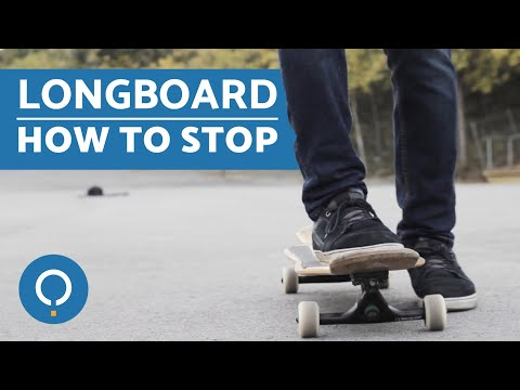 How to Stop on a Longboard - Tricks and Tips