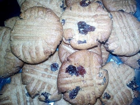 How to make peanut butter cookies...no eggs...no baking powder/soda
