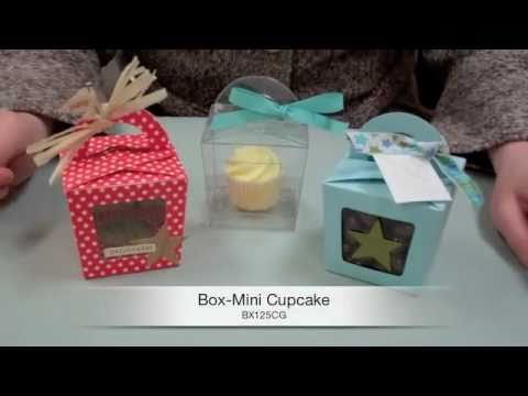 Learn How to Make a Mini Cupcake Box!