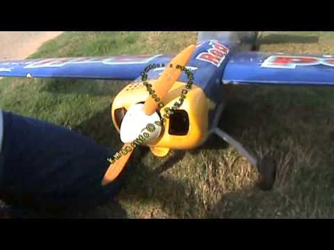 How to start a nitro plane engine