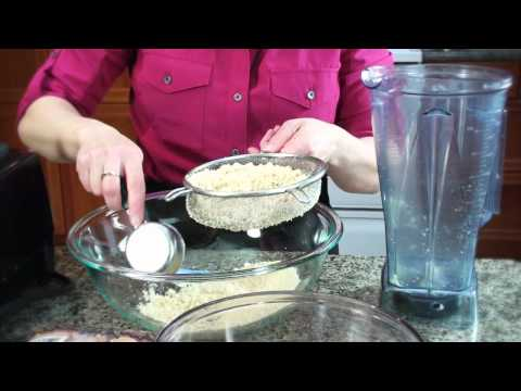 How to Make Blanched Almond Flour in the Vitamix