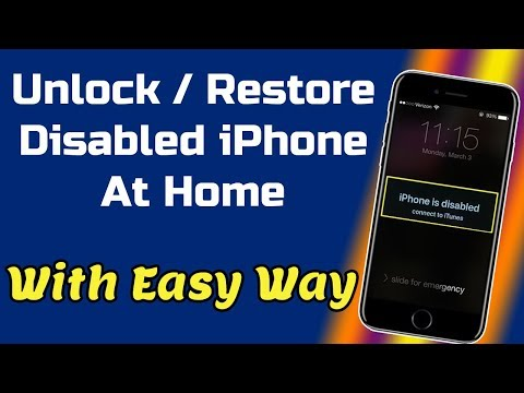 How To Fix iPhone is Disabled Connect To iTunes   Activation Error Bypass