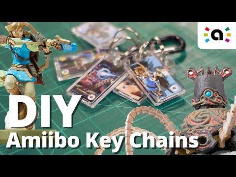 DIY Amiibo Keychains! (Kiichains?)