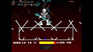 Scratch] Dustbelief Papyrus full version battle![undertale fangame]