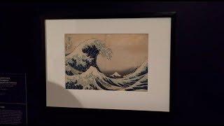 Hokusai Exhibition - Vlog 172