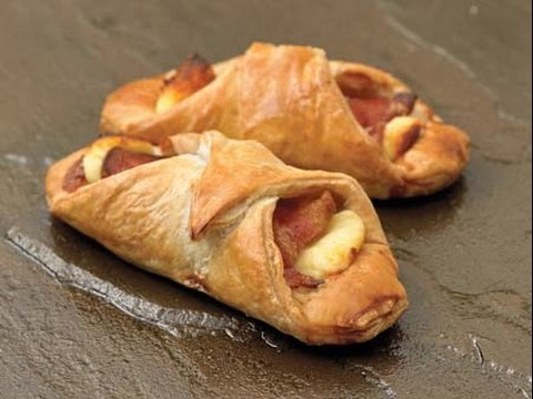 bacon & cheese turnovers/cheese &  onion turnovers