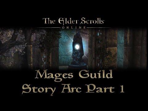 ESO - Mages Guild Story Arc - Part 1 - Joining Mages Guild