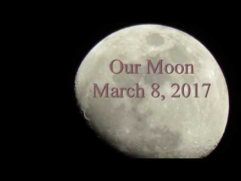 Our Moon March 8, 2017