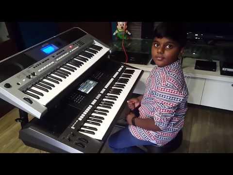 varunesh  performing rashke qamar on keyboard