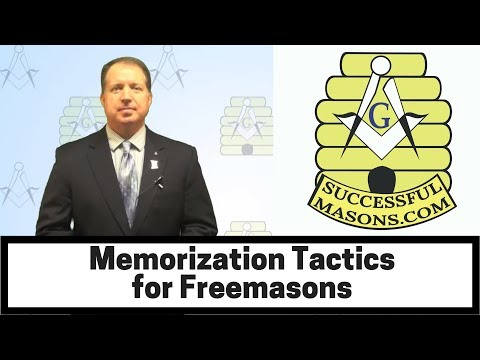 Memorization Tactics for Freemasons