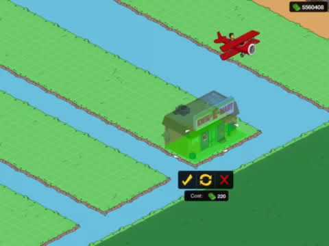 TSTO DeSelecting Water and Land