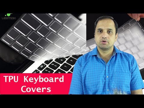 Best Laptop Transparent TPU Keyboard Protectors (Dust Proof): Cooskin