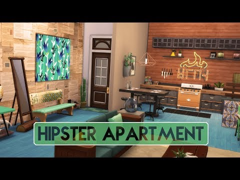 Sims 4 | Apartment Renovation | Hipster Apartment