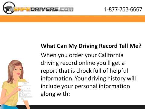 California Driving Record Online – What You Can Expect To See