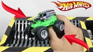 Experiment Shredding Hot Wheels Toy Car Lego And Toys | The Crusher