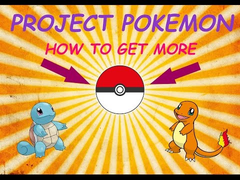HOW TO GET MORE POKEBALLS -  PROJECT POKEMON