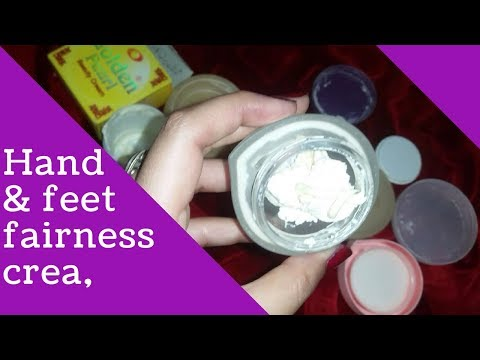 Hands and feet whitening formula cream/My Secret of fair hands/Hand & Foot cream
