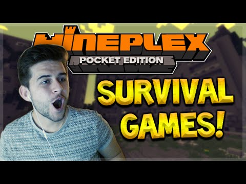MINEPLEX PE SURVIVAL GAMES!! Minecraft Pocket Edition UNSTOPPABLE RAMPAGE!! (Pocket Edition)