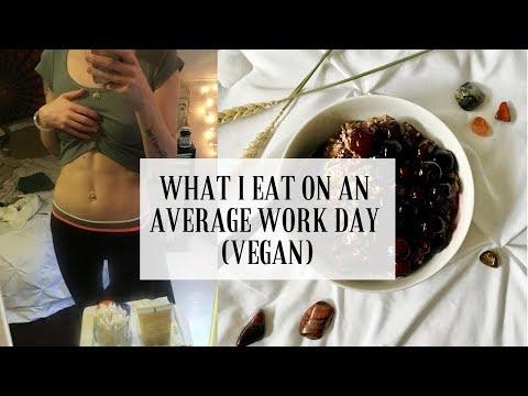 WHAT I EAT ON AN AVERAGE WORK DAY (VEGAN)